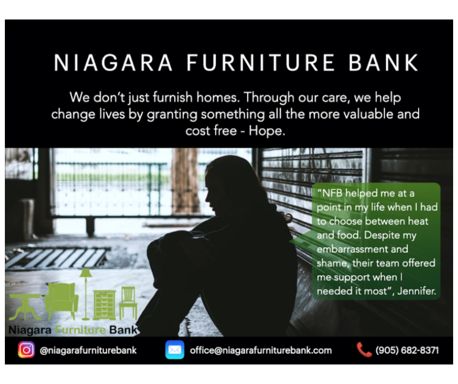 Testimonial - Niagara Furniture Bank Jennifer - Hope