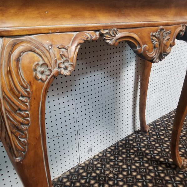 Wooden Wall Hallway Console table Ornate