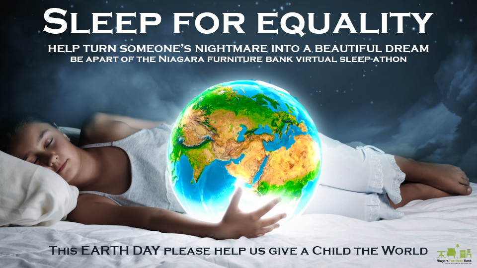 Make Someone's Dreams Come True Sleep for Equality Sleep-a-thon 2021