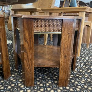 cane end tables